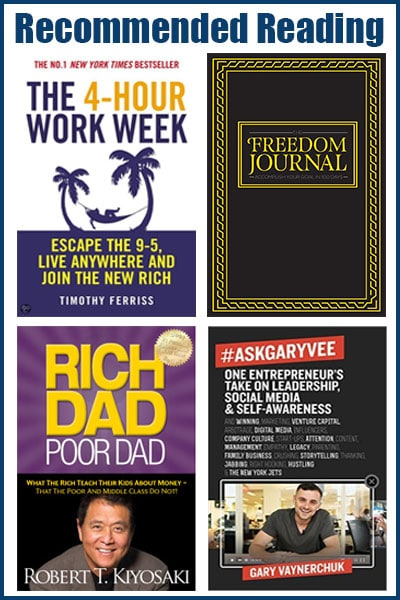 Recommened business books