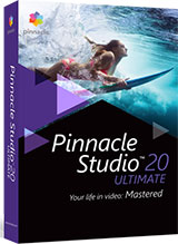 Pinnacle Studio Ultimate Video Editing Software