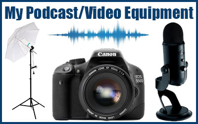 The Income Highway (Paul James Carey) Podcast and Youtube video equipment and gear